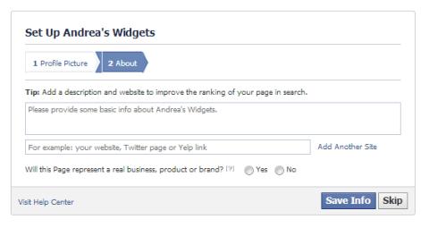 facebook basic information