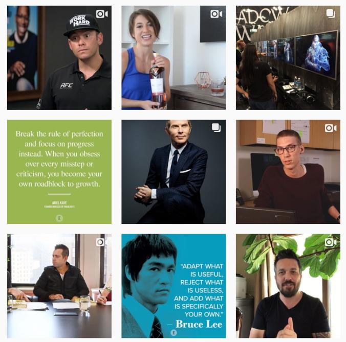 Entrepreneur Instagram Theme Vital Vines
