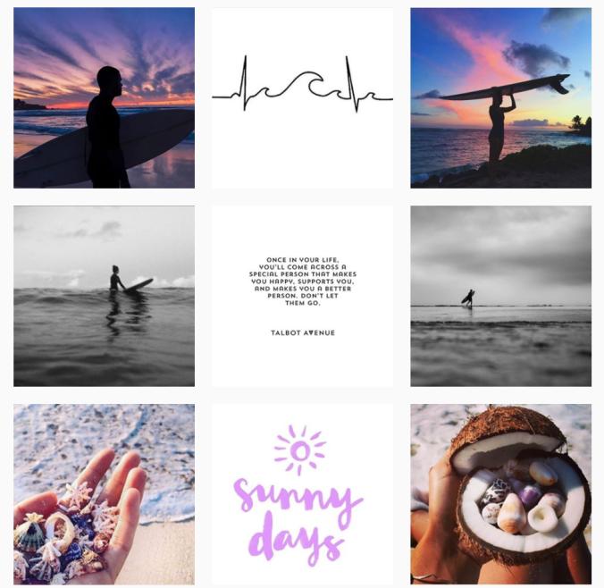 Mysimplegram Instagram Theme Grid Vital Vines Blog