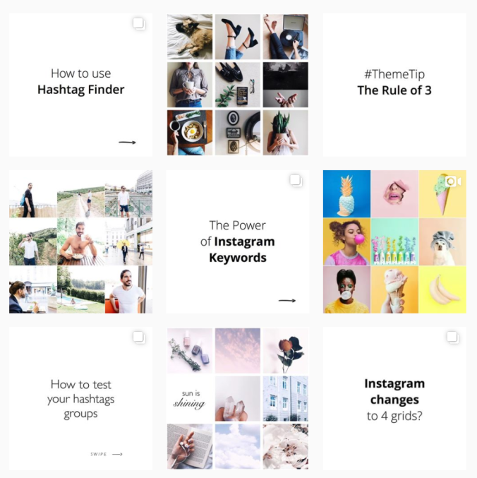 Instagram Grid Theme Vital Vines Blog