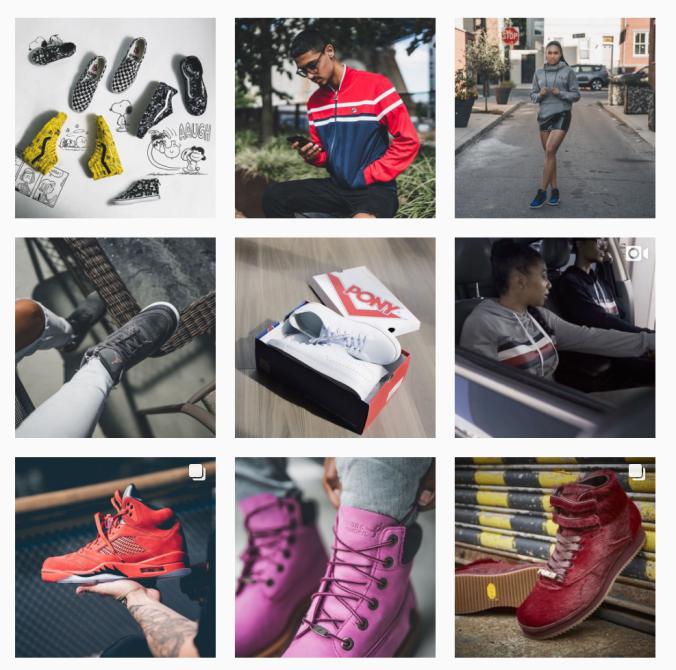 Instagram Layout Kicks USA