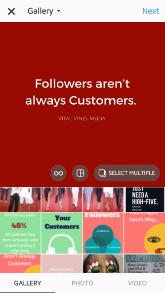 Instagram Business Vital Vines 5