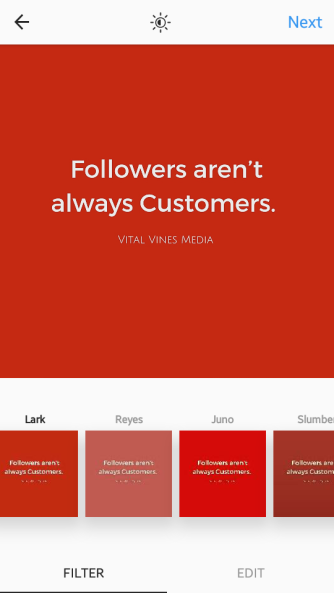 Instagram Business Vital Vines 7