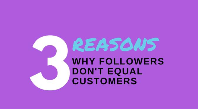 Followers Customers Social Media