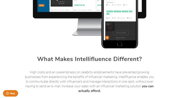 Influencer Marketing for Everyone Intellifluence
